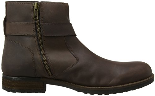 Stivaletti Boots Uomo Oiled Marrone Leather Deep A Browns Brown Biker Joe OIY7q