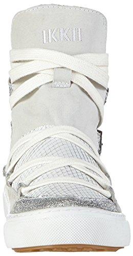 Ikkii Sandale Noatak Weiß/Silber