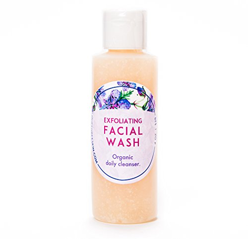 Queen Bee Organic Exfoliating Facial Wash with Salicylic Acid