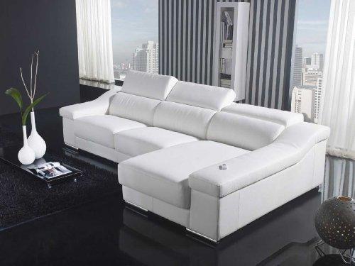 VIG Furniture VGYIT136C-WHT Divani Casa T136C – Modern Leather Sectional For Sale