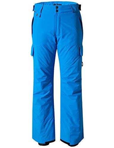 Wantdo Women's Waterproof Snow Pants Windproof Insulated Cargo Ski Pants