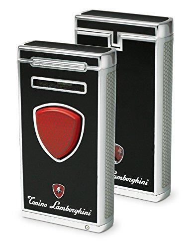 Tonino Lamborghini Pergusa Black Torch Flame Lighter by Tonino Lamborghini