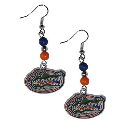 NCAA Florida Gators Fan Bead Dangle Earrings (Ncaa Accessories Jewelry)