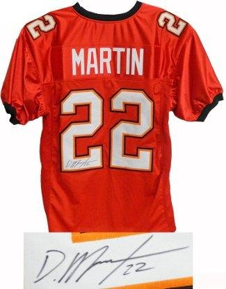 hot sale online 42916 e0067 Signed Doug Martin Jersey - Red Custom Stitched #22 XL ...