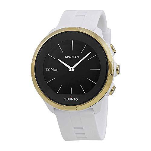 Suunto Spartan Sport Wrist HR - Reloj Deportivo HR, Blanco/Dorado (Gol