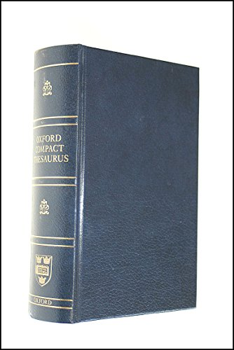 OXFORD COMPACT THESAURUS. Third Edition.