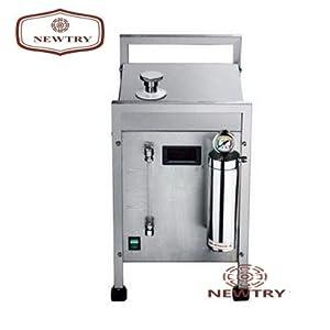 Oxygen Hydrogen Water Welder Flame Generator Polisher Polishing Machine 150-160L (AC-220±20V, Double Guns)
