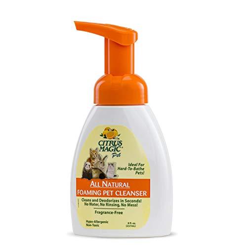 Citrus Magic Foaming Pet Cleanser, 8-Ounce