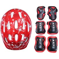 HIPKOO SPORTS Excellence 4 in 1 Protective Set Cycling, Skating Kit (Small)