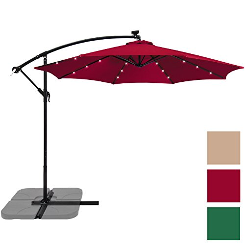 Best Choice Products Umbrella Burgundy