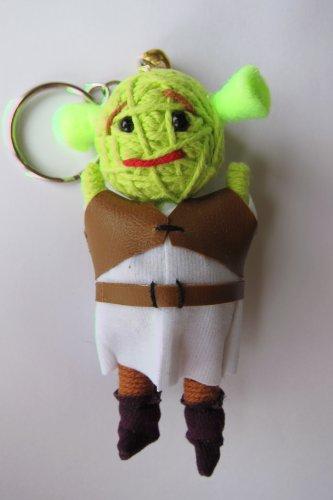 (Shrek Voodoo String Doll Keychain NEW 2012)