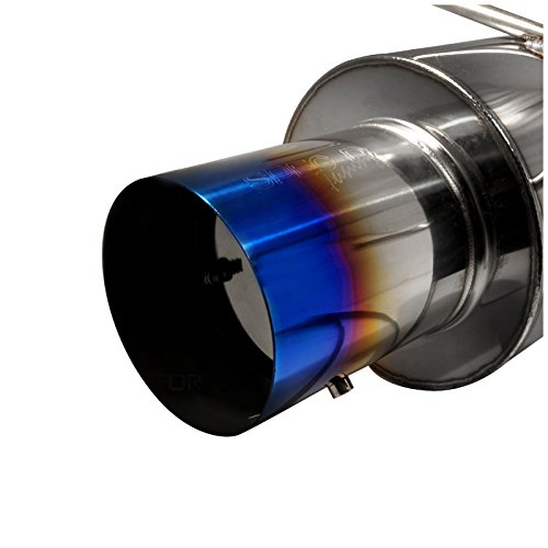 Spec-D Tuning MFCAT2-CV01T-SD Cat-Back Exhaust System