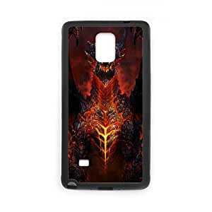Deathwing World Of Warcraft Game Samsung Galaxy Note 4 Cell Phone Case Black gift pp001_9448719