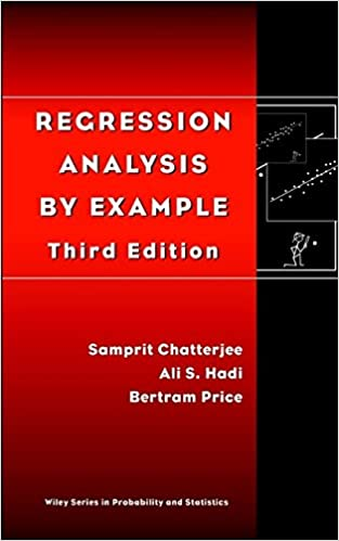 Amazon com: Regression Analysis by Example, 3rd Edition