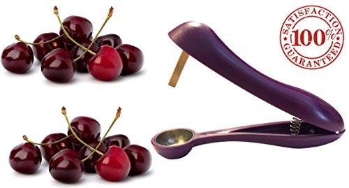 Cherry Pitter / Corer & Oliver Stoner - Modern Karma Kitchen Brand Cherrystone Remover
