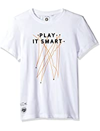 Men's Short Sleeve Jersey Tech with Play It Smart Graphic T-Shirt, TH3352