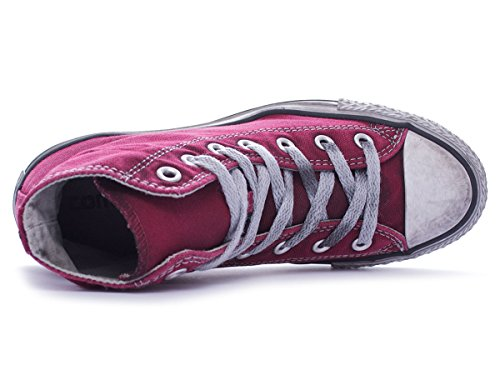 Converse Star Hi Canvas Seasonal, Sneaker, Unisex Maroon Smoke In