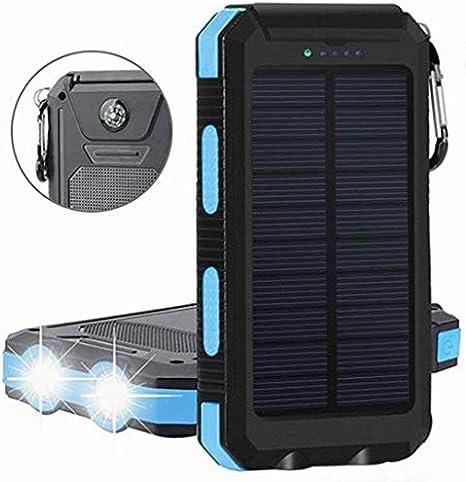 Amazon.com: REF Market Place Cargador Solar Power Bank ...