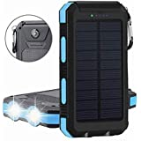 Amazon.com: Benfiss - Cargador solar portátil de 20000 mAh ...