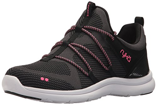 Black Women's Ryka Caprice Pink Shoe Walking pHTIn1FH