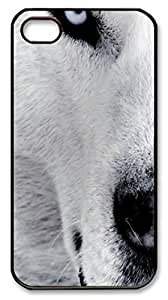 Animals 077 PC Case Cover for iPhone 4 and iPhone 4s ¨CBlack