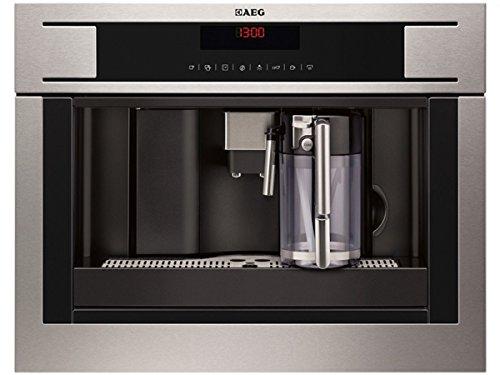 AEG PE4571-M Einbau Espresso-/Kaffeevollautomat Edelstahl Kaffeemaschine Kompakt