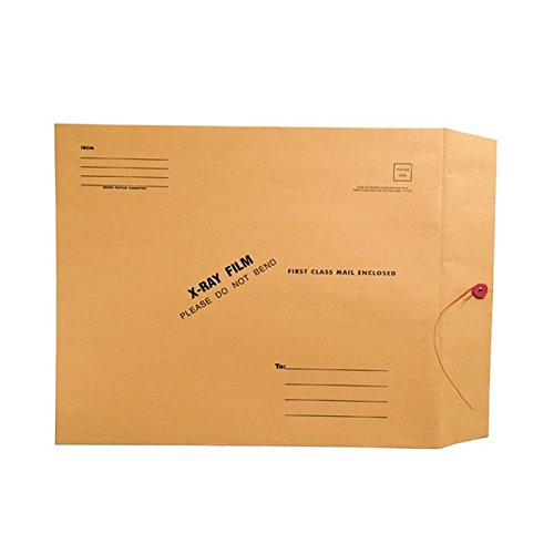 X-Ray Film Mailers, 32lb Brown Kraft, 15