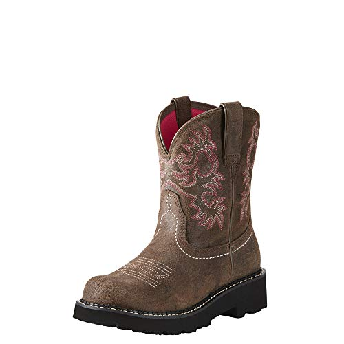 Wild West Boot Store (Ariat Women's Fatbaby Collection Western Cowboy Boot, Dark Barley, 8.5 B)