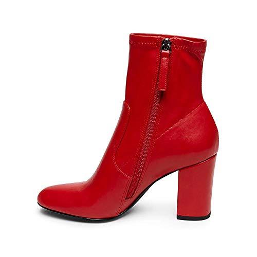 Classiques Rouge Bottes Femme Steve Madden Actual zwqT0tS