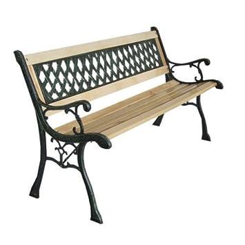 los Buques de Reino Unido] CRAVOG de madera 3 plazas al aire libre ...
