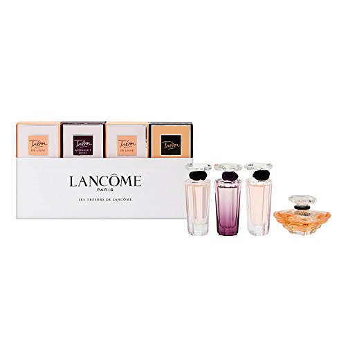 Lancome Les Tresors De Lancome Collection Women's Mini Gift Set, 4 (0.16 Ounce Edp Splash)