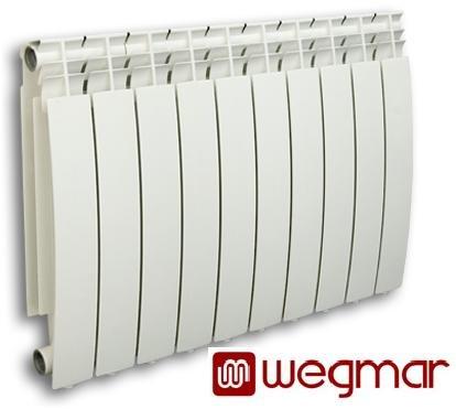 De aluminio radiador de calefacción radiadores planos de colour blanco de segmentos Catalonia500/10 segmentos