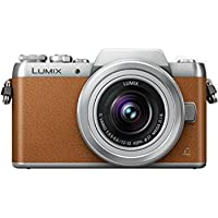 Panasonic LUMIX G DMC-GF8K with 12-32mm Lens Kit (Brown) (International Model) No Warranty