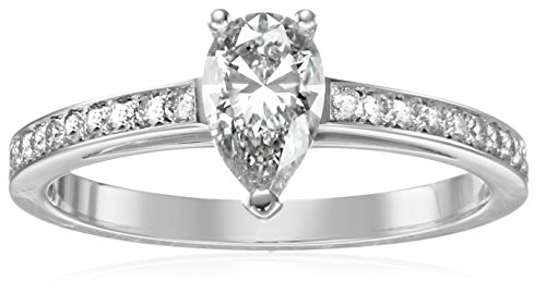 House-of-Eleonore-Dutch-Light-Bridal-White-Gold-Pear-Cut-Laboratory-Created-Diamond-Engagement-Ring-34cttw-F-G-Color-VS1-VS2-Clarity-Size-7