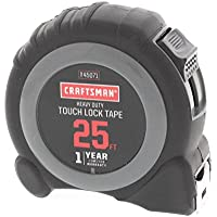 Craftsman 25ft Touch Lock Tape Measure