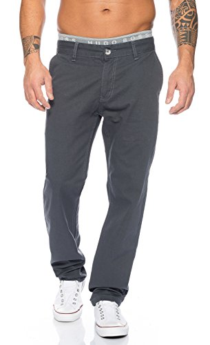 Rc 2083 Dark Chino Grey Uomo Creek Da Rock Pantaloni RXxYqUOwX