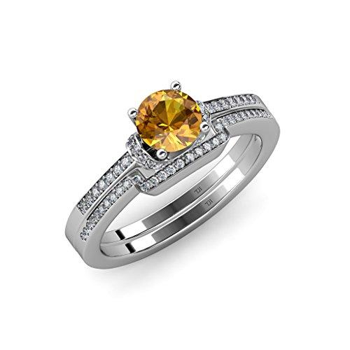 1.25 Ct Citrine Diamond - 6