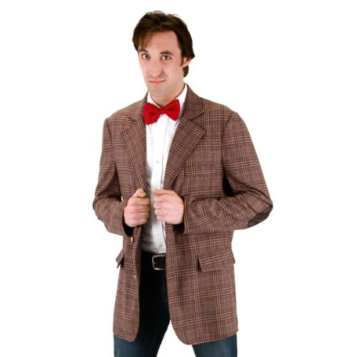 [Doctor Who Mens 11th Doctor Jacket (Small/Medium)] (The Who Halloween Costume)