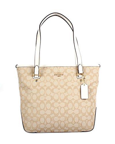 coach-in-outline-signatue-light-khaki-chalk-zip-top-tote-shoulder-handbag-f58282
