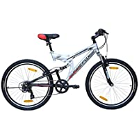 Firefox Bikes Tank 26T 6 Speed Mountain Cycle (Grey/Red)