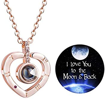 Firsteel 100 Languages Necklace I Love You Women's Necklace