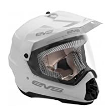 EVS Sports HT5DS-WH-XXL T5 DUAL VENTURE Sport Helmet