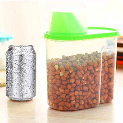 (Food Storage Dry Dried Cereal Pasta Flour Dispenser Container Wholesale Kitchen,Factory Outlet by PSFS (H))