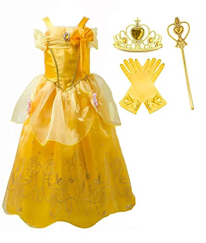 Romys Collection Princess Yellow Costume
