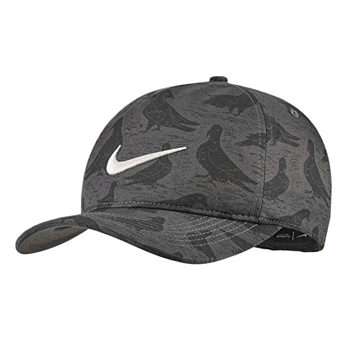 Nike AeroBill Classic99 PGA-Print Golf Cap 2019 Anthracite/Sail One Size Fits All (Best Golf Caps 2019)