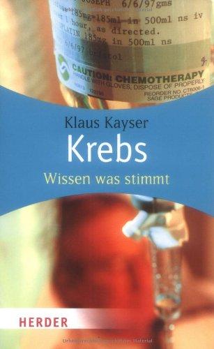 Krebs: Wissen was stimmt