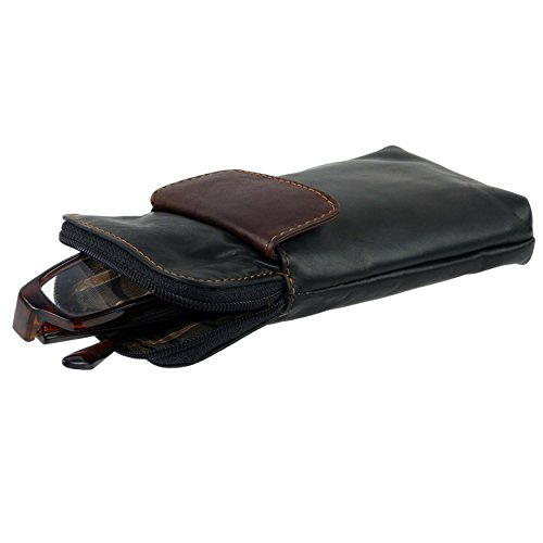 Golunski Soft Leather Zipped Glasses Spectacles Case Holder By Handy - Shop Spectacles Online