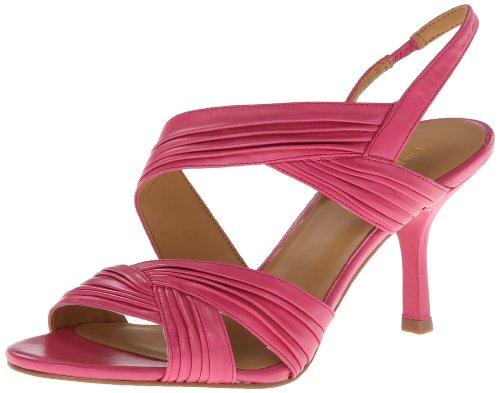 Nine West Women's Beaulah Leather Dress Sandal
