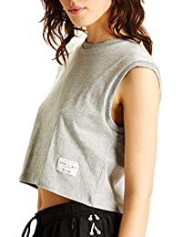 Sport Cropped Muscle Tee