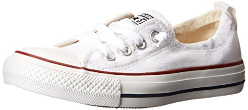 Slip On Shoes Women - Converse Chuck Taylor All Star Shoreline White Lace-Up Sneaker - 8 B - Medium